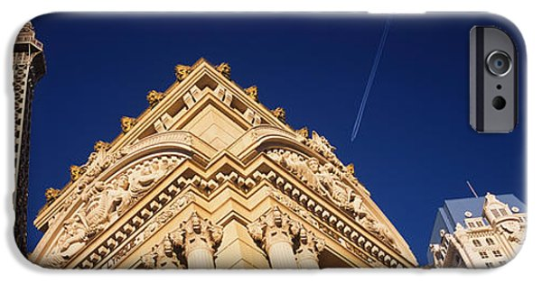 Imitation iPhone Cases - Low Angle View Of A Building In Front iPhone Case by Panoramic Images