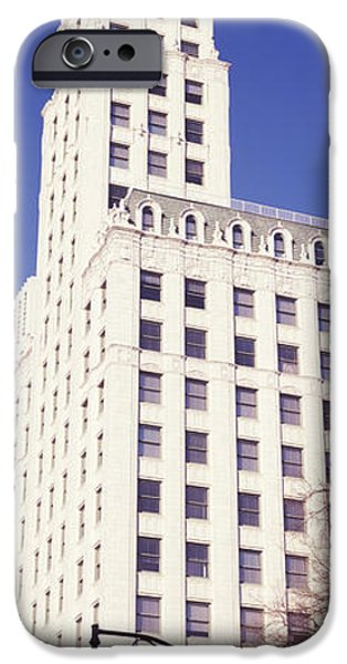 Lincoln iPhone Cases - Low Angle View Of A Building, Lincoln iPhone Case by Panoramic Images