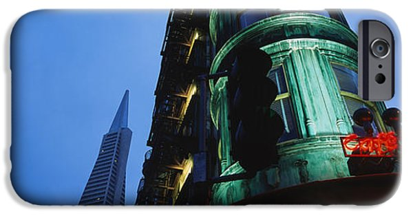 Montgomery iPhone Cases - Low Angle View Of A Building, Sentinel iPhone Case by Panoramic Images