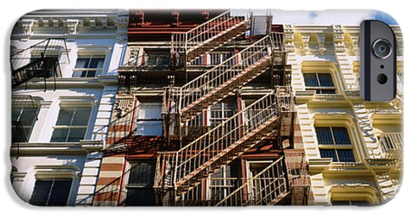 Escape iPhone Cases - Low Angle View Of A Building, Soho iPhone Case by Panoramic Images
