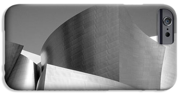 Stainless Steel Photographs iPhone Cases - Low Angle View Of A Building, Walt iPhone Case by Panoramic Images