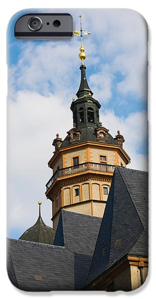 St Nicholas iPhone Cases - Low Angle View Of A Church iPhone Case by Panoramic Images