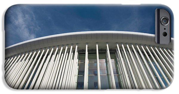 Charlotte iPhone Cases - Low Angle View Of A Concert Hall iPhone Case by Panoramic Images
