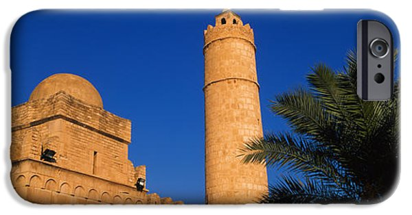 Tall Trees iPhone Cases - Low Angle View Of A Fort, Medina iPhone Case by Panoramic Images