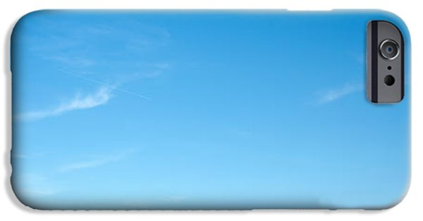 Board iPhone Cases - Low Angle View Of A Road Sign Board iPhone Case by Panoramic Images