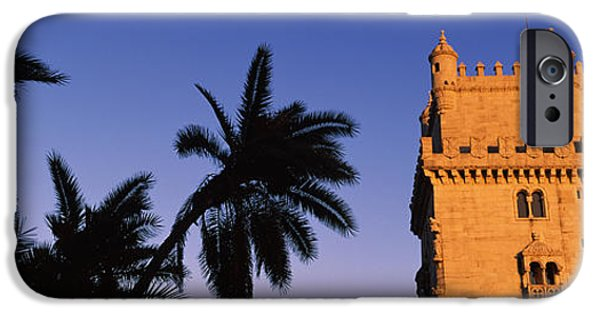 Built Structure iPhone Cases - Low Angle View Of A Tower, Torre De iPhone Case by Panoramic Images