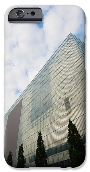 Art Of Building iPhone Cases - Low Angle View Of An Art Museum, Museum iPhone Case by Panoramic Images