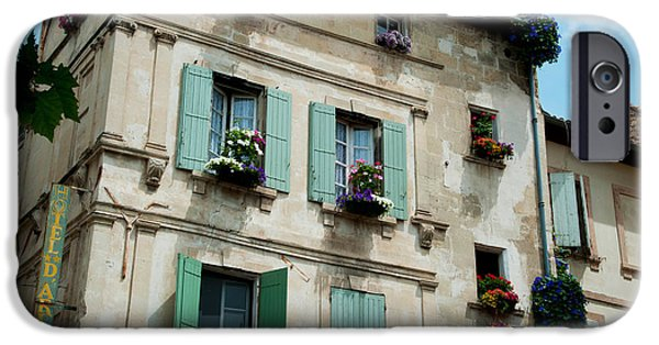 Arles iPhone Cases - Low Angle View Of An Old Building iPhone Case by Panoramic Images