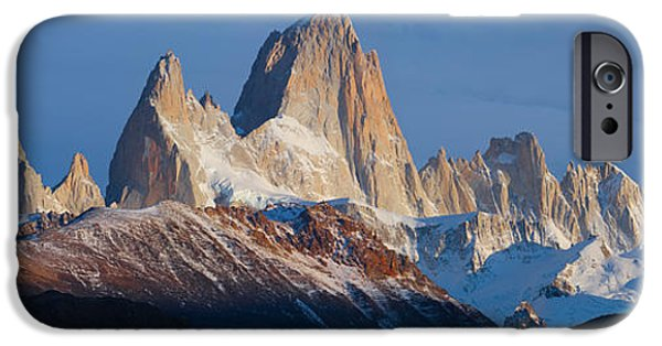 Mountain iPhone Cases - Low Angle View Of Mountains, Mt iPhone Case by Panoramic Images
