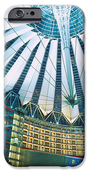 Interior Scene iPhone Cases - Low Angle View Of The Ceiling iPhone Case by Panoramic Images