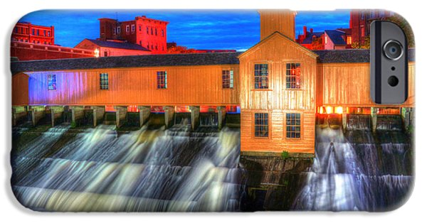 Concord Massachusetts iPhone Cases - Lower Locks 004 iPhone Case by Jeff Stallard