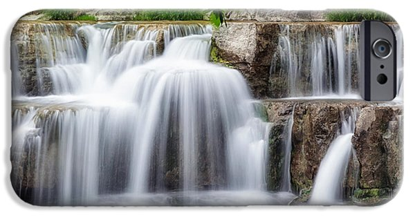 Taughannock Falls iPhone Cases - Lower Taughannock Falls iPhone Case by Bill  Wakeley