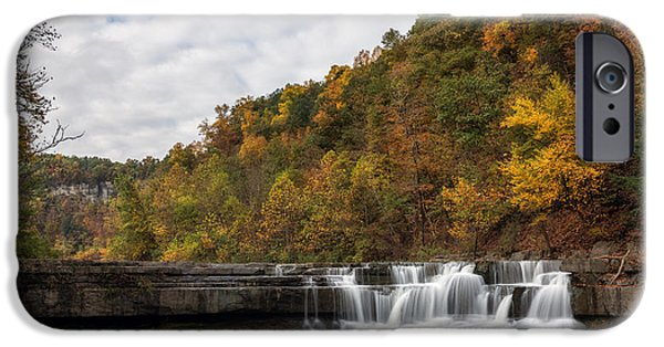 Taughannock Falls State Park iPhone Cases - Lower Taughannock iPhone Case by Mark Papke