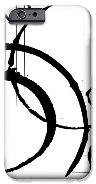 Abstract Digital Mixed Media iPhone Cases - Loyalty iPhone Case by Melissa Smith