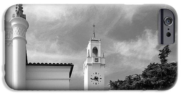 Association iPhone Cases - Loyola Marymount University Clock Tower iPhone Case by University Icons