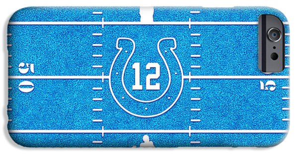 Pro Football iPhone Cases - Luck iPhone Case by Cristophers Dream Artistry