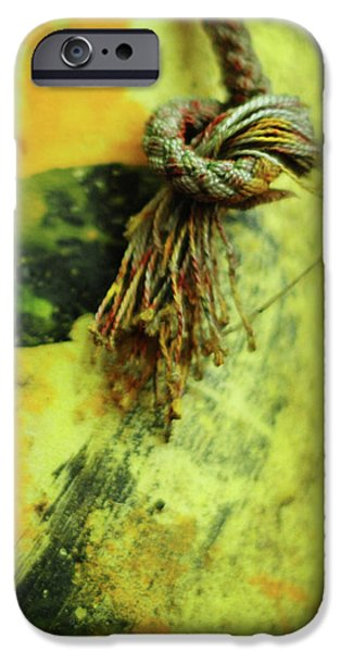 Lucky Number Seven iPhone Case by Rebecca Sherman