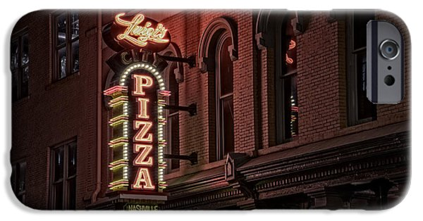 Nashville Tennessee iPhone Cases - Luigis Pizza iPhone Case by Rick Berk