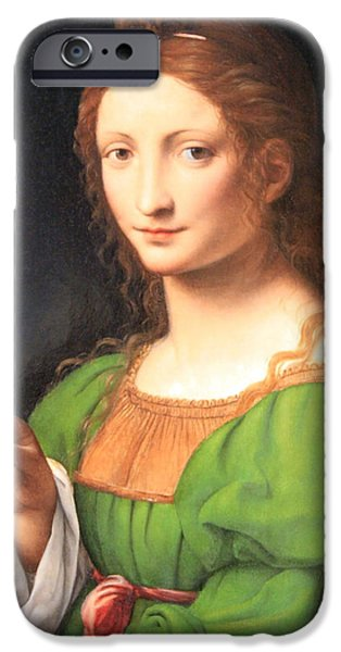 Cora Wandel iPhone Cases - Luinis The Magdalen iPhone Case by Cora Wandel