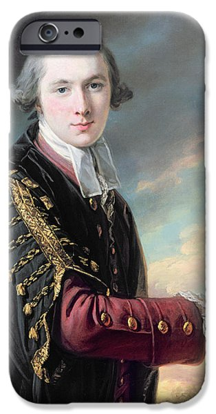 Wide iPhone Cases - Luke Gardiner 1745-98 Oil On Canvas iPhone Case by Francis Cotes