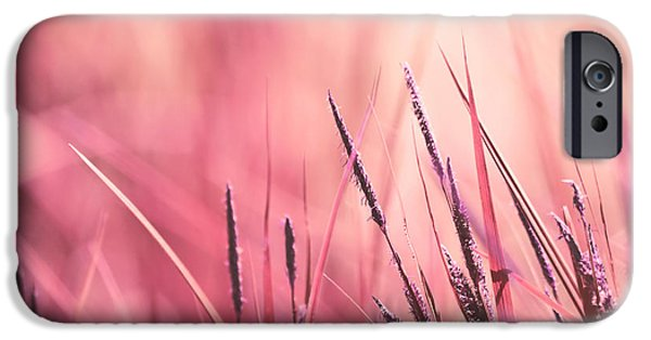 Aimelle Photographs iPhone Cases - Luminis - s09c - Pink iPhone Case by Variance Collections