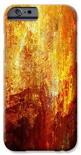 Luminous - Abstract Art iPhone Case by Jaison Cianelli