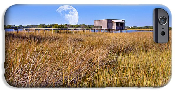 Gregory House iPhone Cases - Luna Boat House iPhone Case by Gregory W Leary