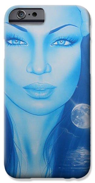 'Lunarium' iPhone Case by Christian Chapman Art