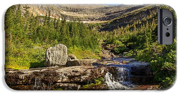 Going Green iPhone Cases - Lunch Creek  iPhone Case by Robert Bales
