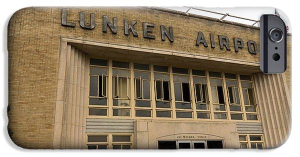 Municipal iPhone Cases - Lunken Airport in Cincinnati Ohio iPhone Case by Paul Velgos