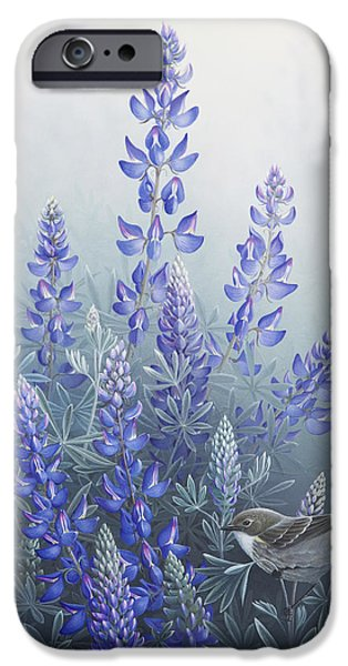 Lupine iPhone Case by Mike Stinnett