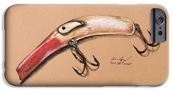 Wild Trout iPhone Cases - Lure iPhone Case by Aaron Spong