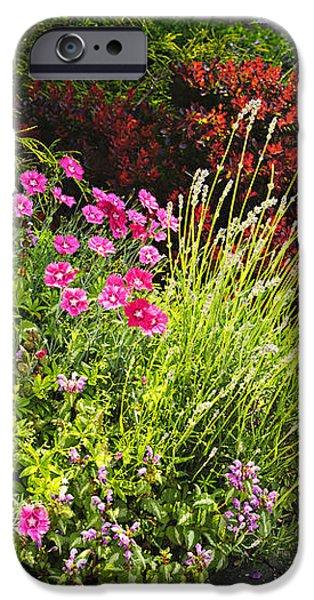 Lush garden iPhone Case by Elena Elisseeva