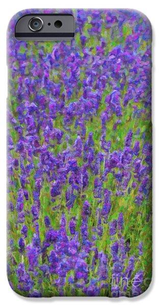 Lush iPhone Cases - Lush Lavendula iPhone Case by Tim Gainey