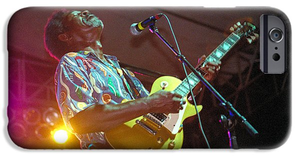 Gary Gingrich iPhone Cases - Luther Allison iPhone Case by Gary Gingrich Galleries