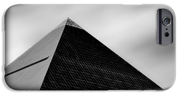 Thebes iPhone Cases - Luxor Pyramid iPhone Case by Dave Bowman