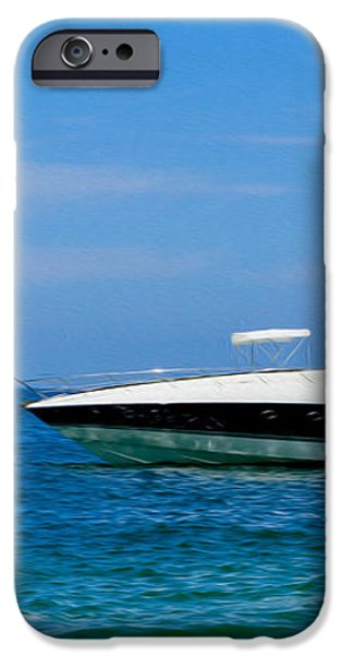 Luxury Boat iPhone Case by Aged Pixel