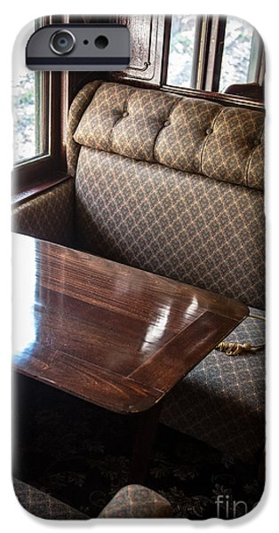Seated iPhone Cases - Luxury Train iPhone Case by Edward Fielding