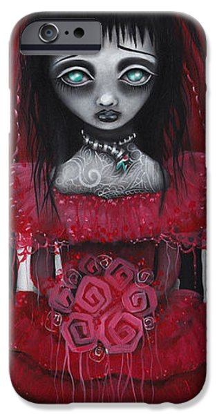 Tim Paintings iPhone Cases - Lydia iPhone Case by  Abril Andrade Griffith