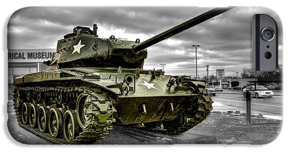 United States iPhone Cases - M41 Walker Bulldog  v1 iPhone Case by John Straton