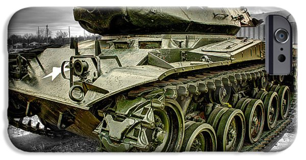 World War One iPhone Cases - M41 Walker Bulldog  v4 iPhone Case by John Straton