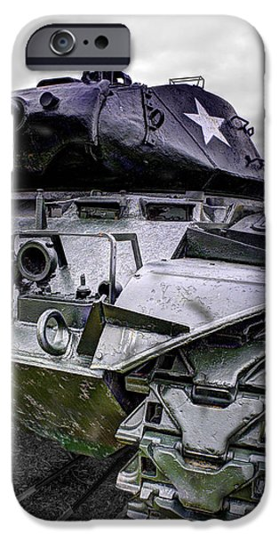 Recently Sold -  - World War One iPhone Cases - M41 Walker Bulldog  v5 iPhone Case by John Straton