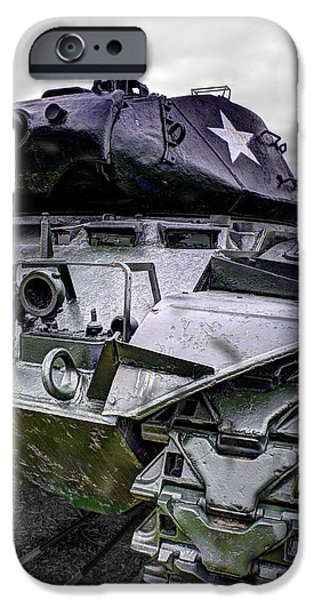 World War One iPhone Cases - M41 Walker Bulldog  v5 iPhone Case by John Straton