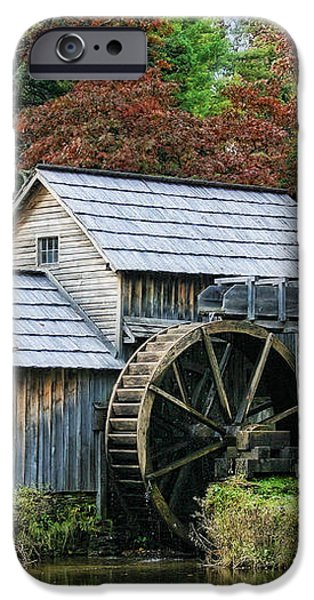 Mabry Mill II iPhone Case by Joan Bertucci