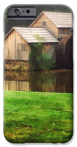 Mabrys Mill and the Welcoming Committee iPhone Case by Darren Fisher