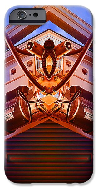 Photo Manipulation Digital Art iPhone Cases - Machine Maid iPhone Case by Wendy J St Christopher
