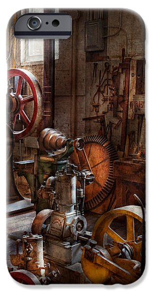 Machinist - A room full of memories  iPhone Case by Mike Savad