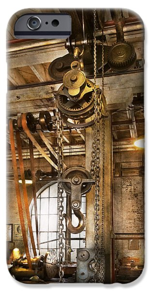 Recently Sold -  - Machinery iPhone Cases - Machinist - In the age of industry iPhone Case by Mike Savad