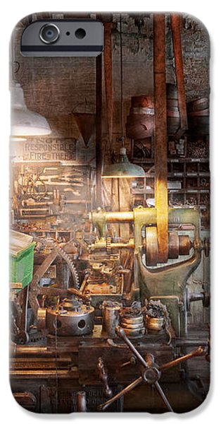 Machinist - It all starts with a Journeyman  iPhone Case by Mike Savad