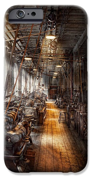 Best Sellers -  - Work Tool iPhone Cases - Machinist - Welcome to the workshop iPhone Case by Mike Savad